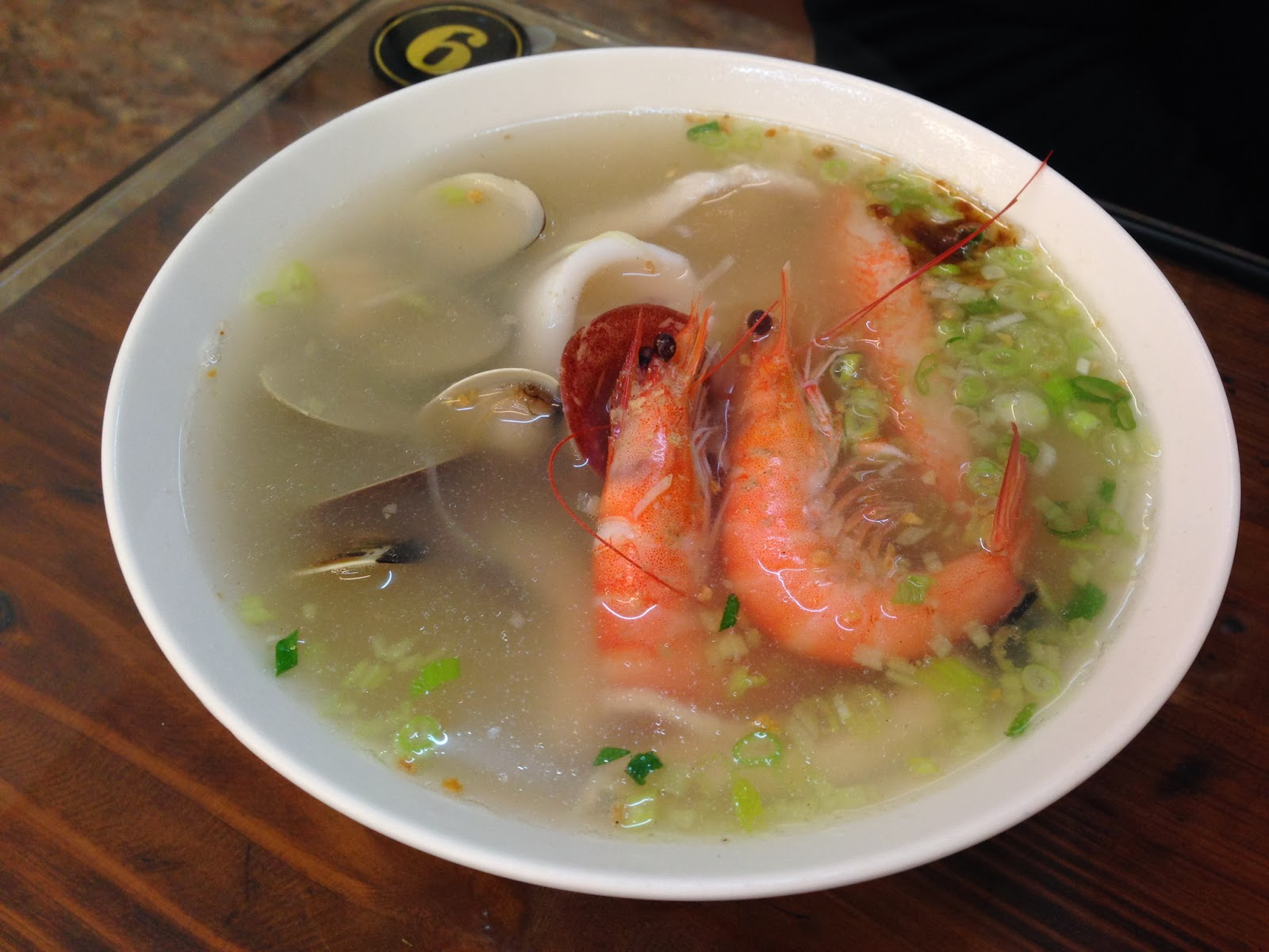 JIY的旅遊: 20140114 熱河海產粥