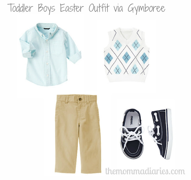 gymboree easter outfit boys
