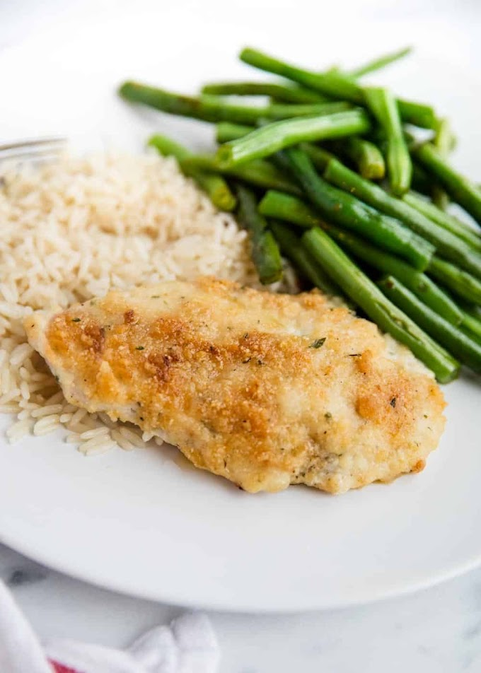 PARMESAN RANCH CHICKEN #parmesan #lunch