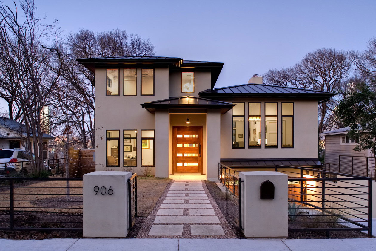 Modern architectural house plans