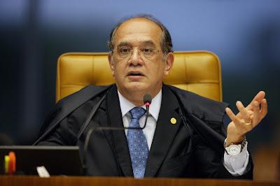 MPF-RJ  pede suspeição do ministro Gilmar Mendes no caso envolvendo a prisão de Jacob Barata Filho