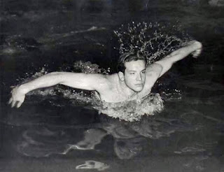 Before he found fame as Bud Spencer the movie star, Carlo Pedersoli was a Olympic swimmer