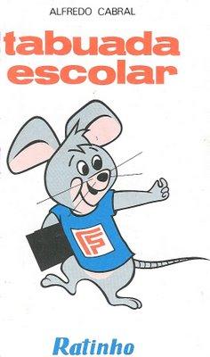 ... da Tabuada Escolar do Ratinho