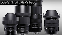 Four New Sigma Lenses Annoucned - 14mm, 24-70mm, 135mm Art & 100-400mm Contemporary
