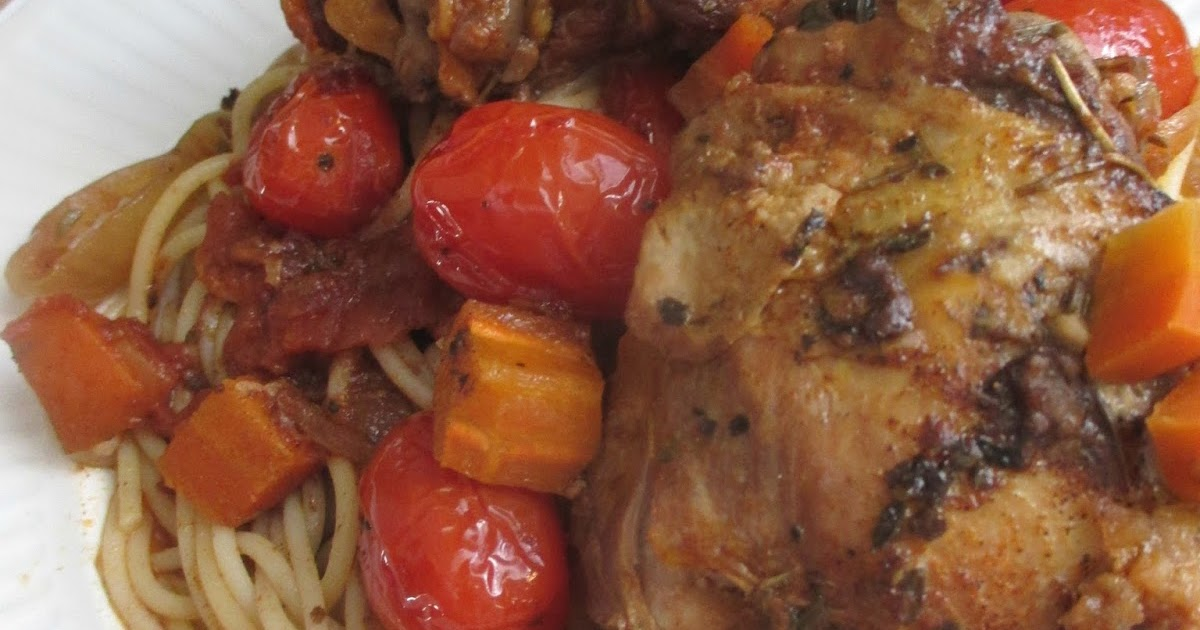 Just my Stuff: Slow Cooker Chicken Cacciatore