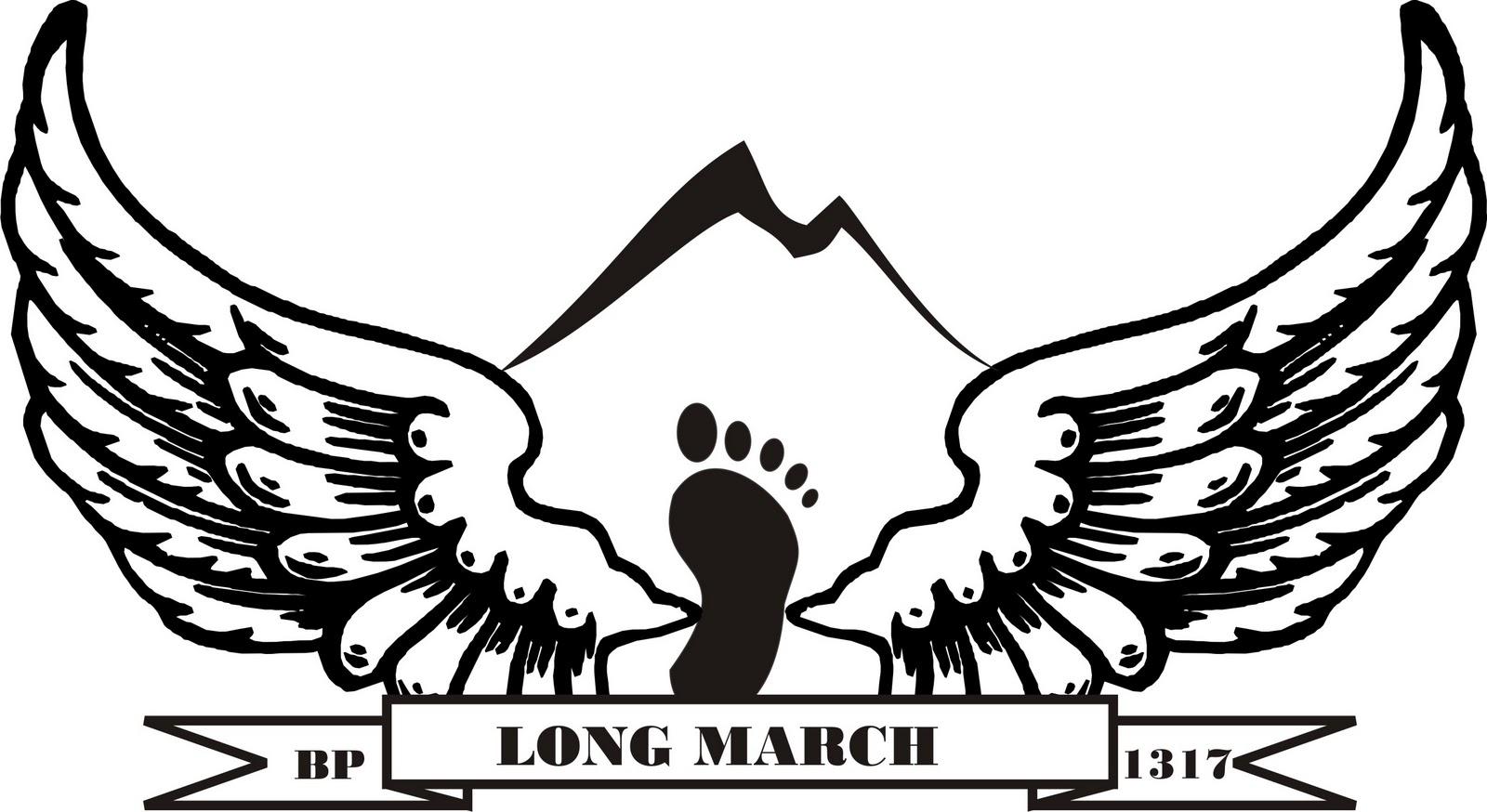 Brigade Penolong 1317: rancangan desain persiapan LONG MARCH