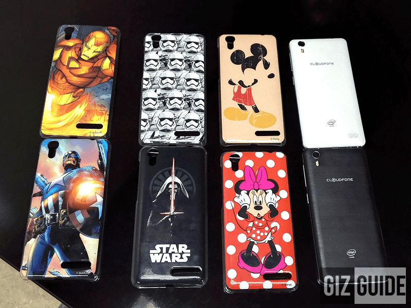 First Look! CloudFone Excite 2 Special Edition With Double The RAM And ROM Plus Authentic Star Wars, Disney And Marvel Bundles!