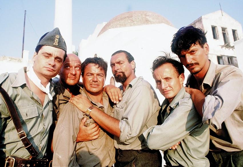 31 gennaio 1991: Esce nelle sale italiane il film di Gabriele Salvatores, 'Mediterraneo'