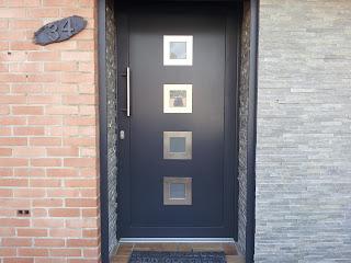 moderniser votre fa ade avec des portes en aluminium design fmpvc du cambr sis. Black Bedroom Furniture Sets. Home Design Ideas