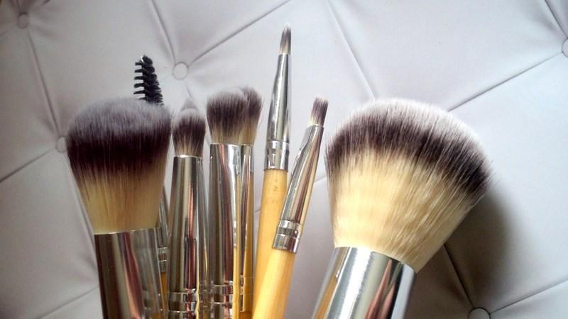 Sunshade Minerals zestaw pędzli do makijażu