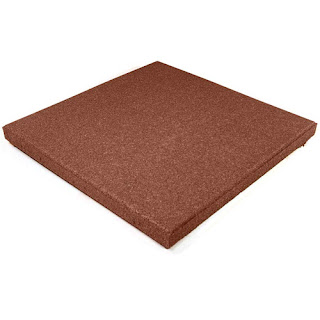 Greatmats playground rubber tile patio