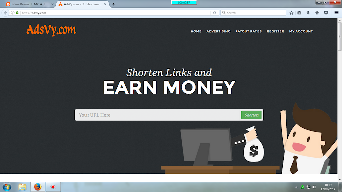 ADSVY.COM | Url Shortener and Earn Money