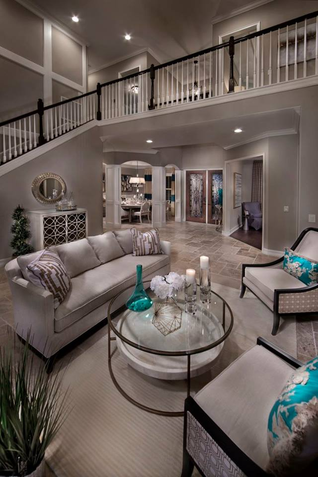 Beautifully Decorated Living Rooms For Christmas: 20 Most Beautiful Living Room Designs You've Ever Seen