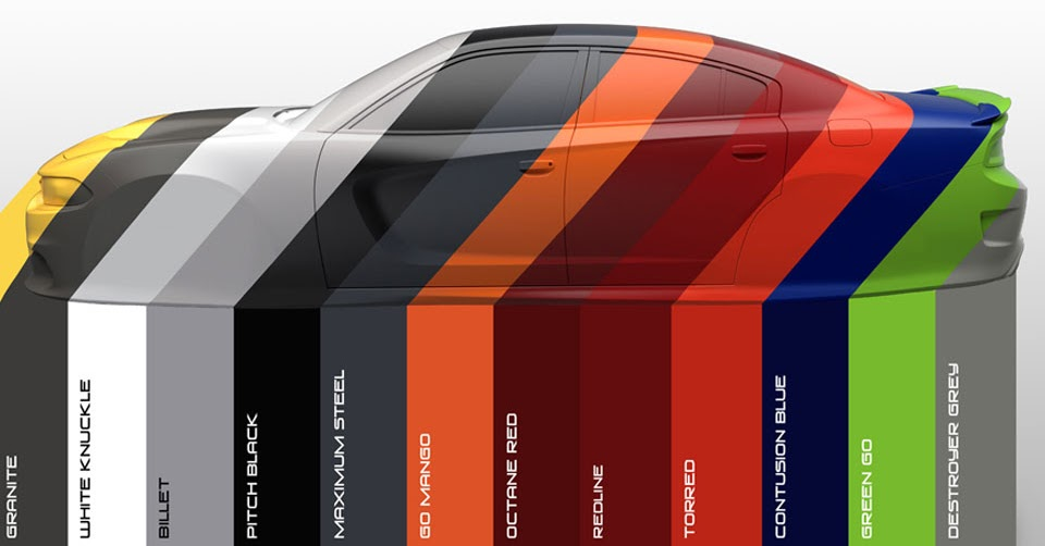 dodge colors heritage its charger range rolls inspired brand each drawing stand vehicle carscoops cars caravan gi