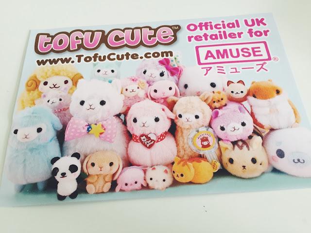 Tofu Cute Card