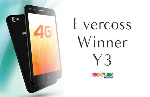 Evercoss Winner Y3 Full Spesifikasi dan Harga Terabaru 2016