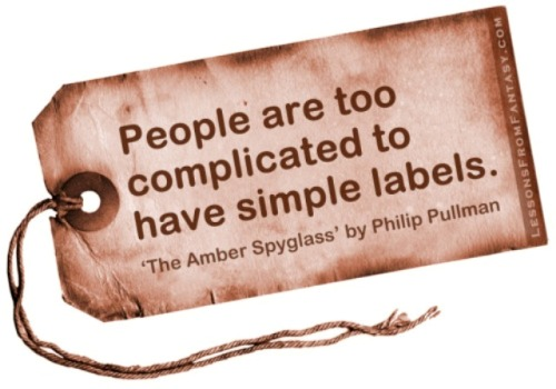 People Are Too Complicated To Have Simple Labels Philip Pullman The Amber Spygl