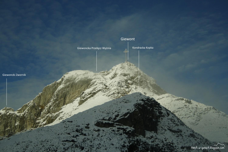 Panorama z Kondrackiej Przełęczy