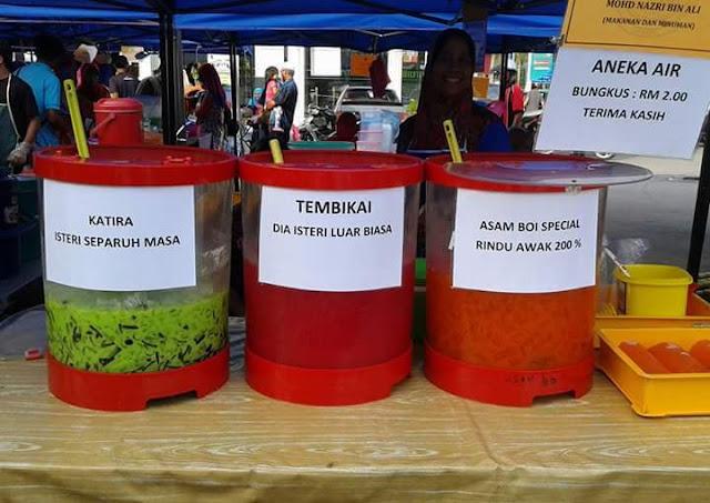 Senarai Air Balang Bazar Ramadhan Pasti Laku