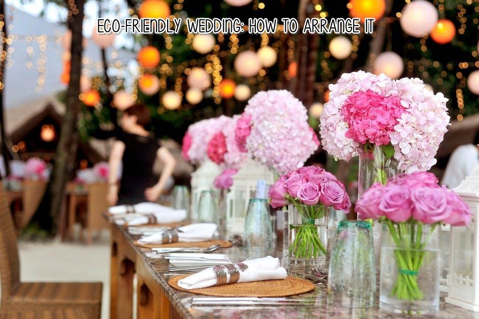 Eco Friendly Wedding How To Arrange It Dear Kitty Kittie Kath