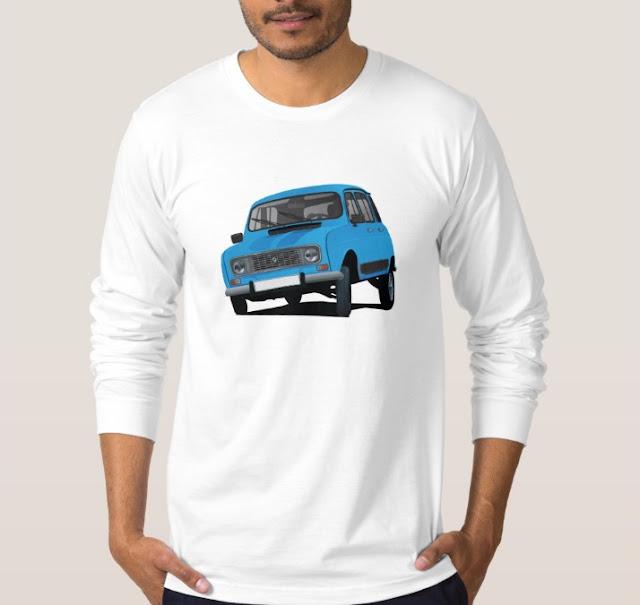 Renault 4 t-paita