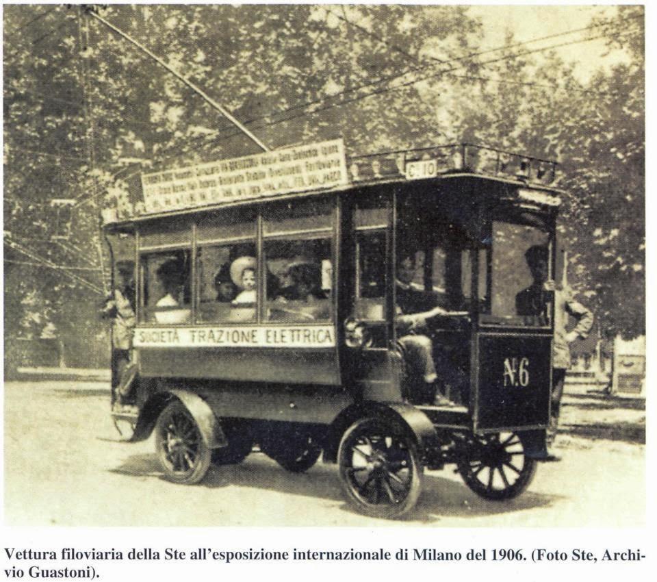 tram milano filovia expo