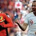Goles - Inglaterra 0-1 Bélgica