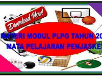 Download Materi Modul PLPG Tahun 2016 Mata Pelajaran Penjaskes