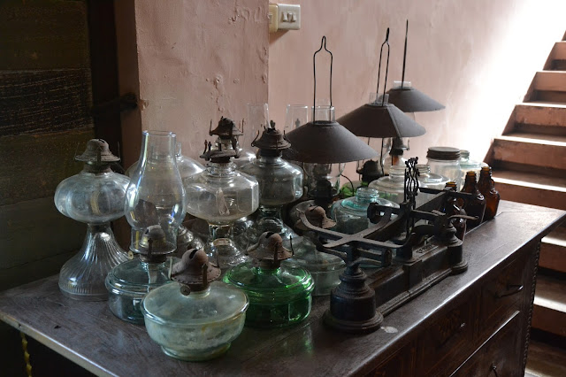 old gas lamps