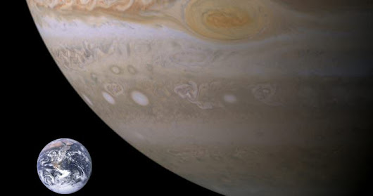 A tribute to the Cassini-Huygens space craft that pulled a Butch Cassidy and the Sundance Kid ending after a brilliant 20-years hanging around Saturn... but first, a quick look at Jupiter that should make us humble
