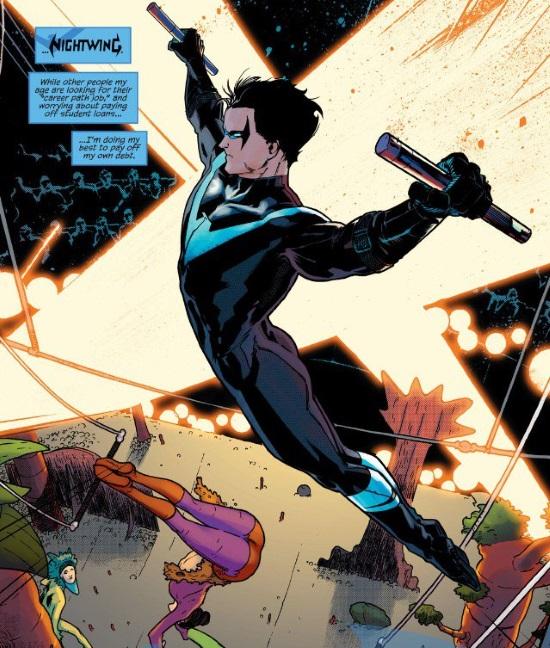 Nightwing #1. Renacimiento