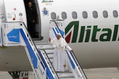 Fotografia do Papa Francisco