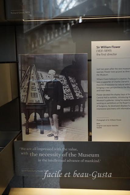 Sir William Flower, NHM London