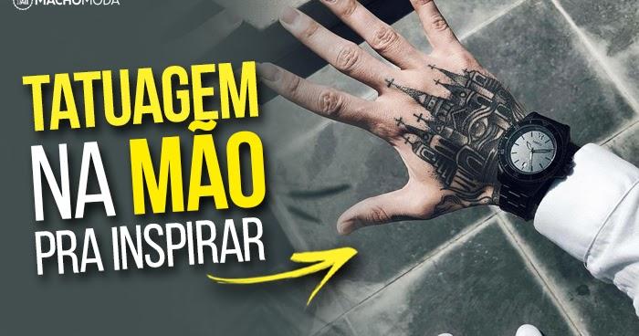 Tem Na Web - TATUAGEM NA MÃO MASCULINA: 35 Ideias de Tattoos na Mão pra inspirar!