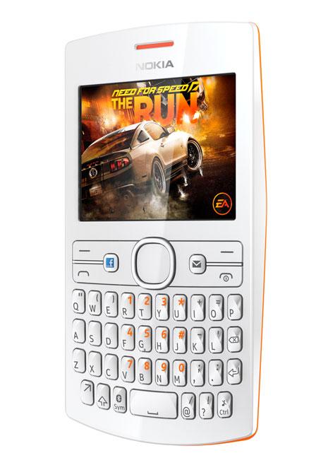 Nokia Asha 205 putih