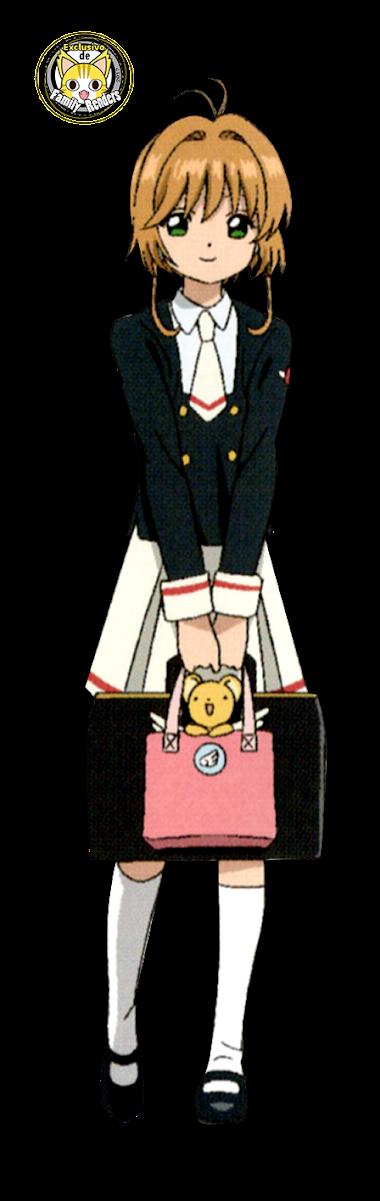 render sakura kinomoto 02 - CARD CLEAR