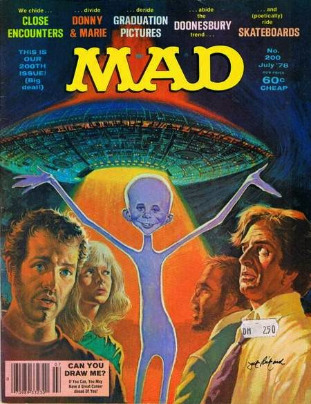mad magazine close encounters
