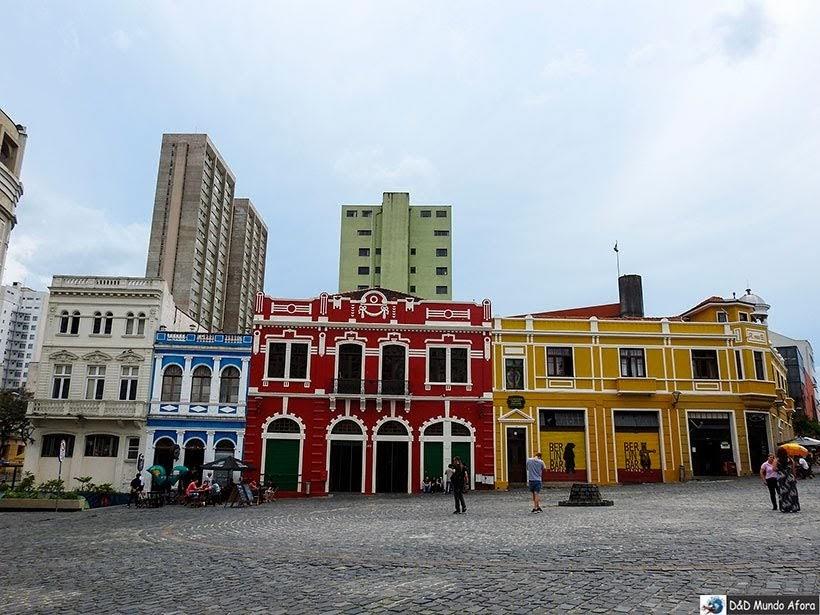 Largo da Ordem - O que fazer em Curitiba, Paraná