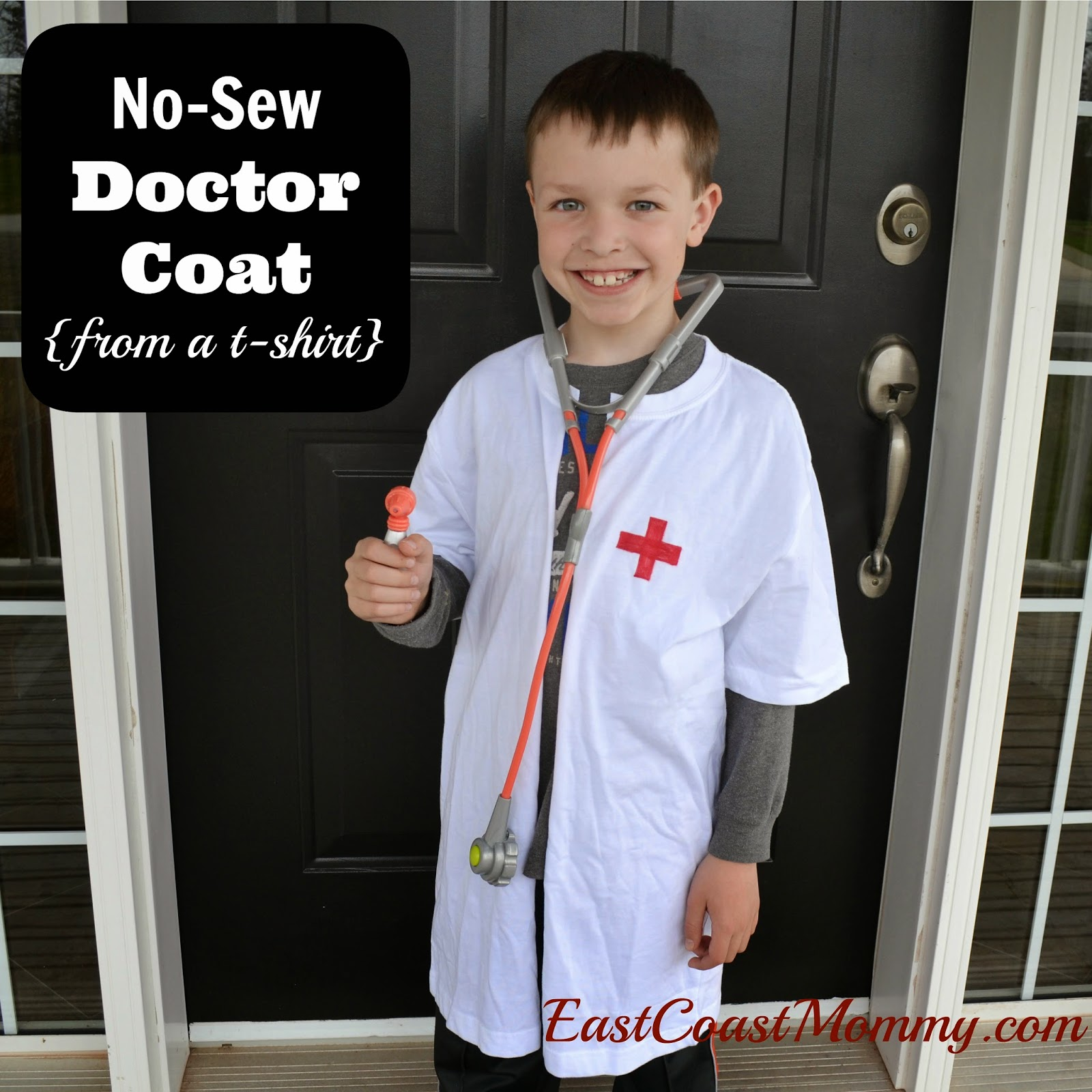 East Coast Mommy No Sew Doctor Lab Coat