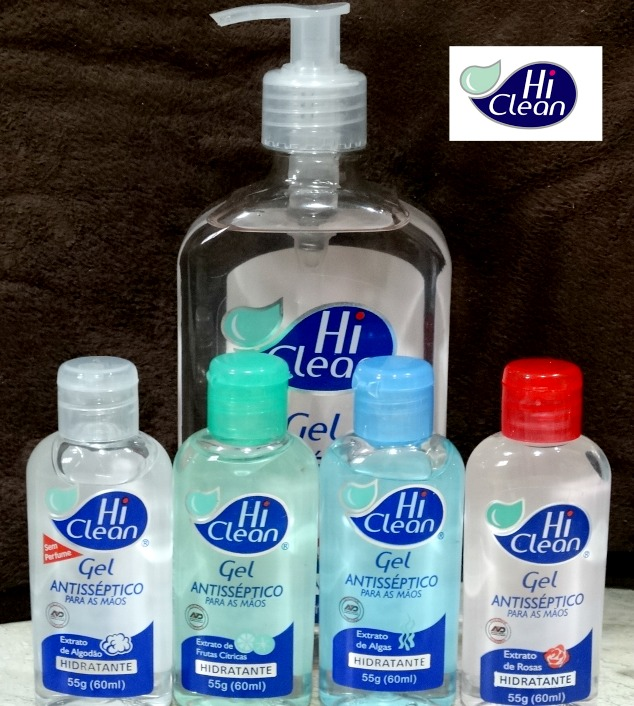 Gel Antisséptico Hi Clean 1