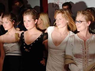 7 Meryl Streep y bellas hijas Mamie, Grace y Louisa
