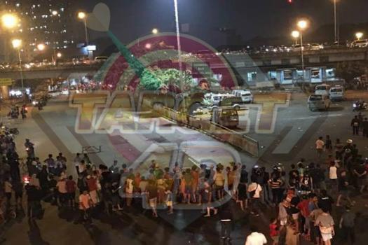Ledakan Keras di Terminal Kampung Melayu
