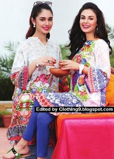 Nishat Linen Saavan Collection 2015