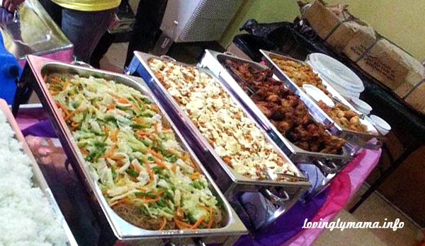Rochelle's Kitchen - affordable Bacolod catering