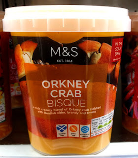 M&S Orkney Crab Bisque