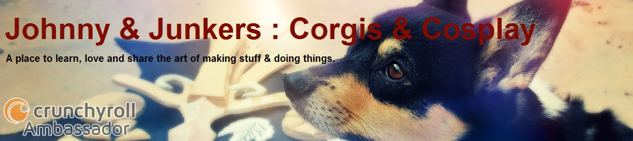 Johnny & Junkers : Corgis & Cosplay