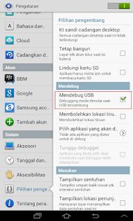 mendebug USB