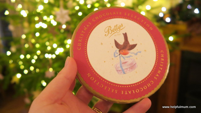 Bettys Christmas Chocolate selection box