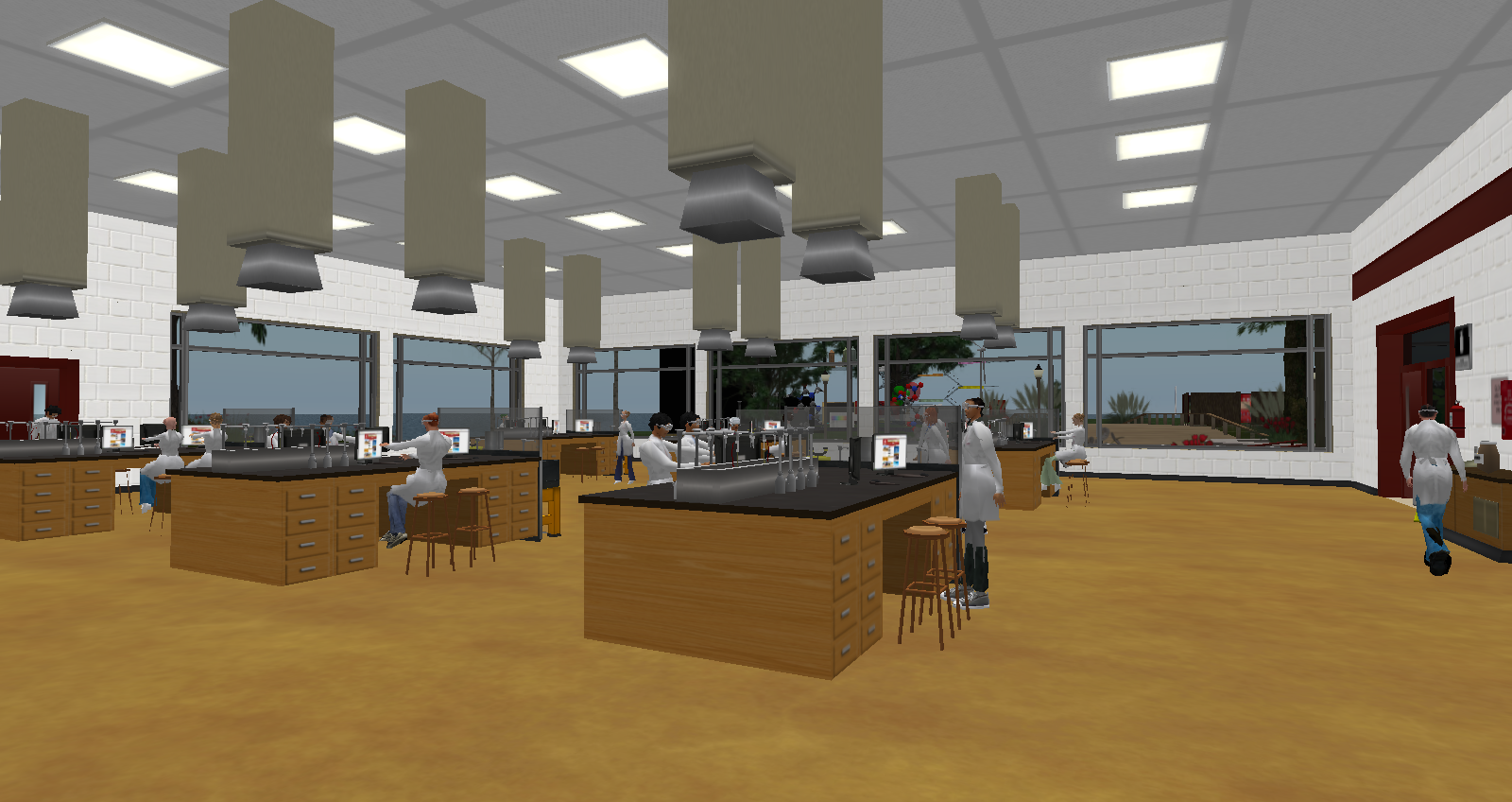 Second Life Chemistry Lab