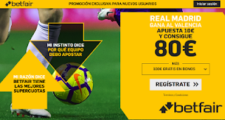 betfair supercuota Real Madrid gana al Valencia 3 abril 2019